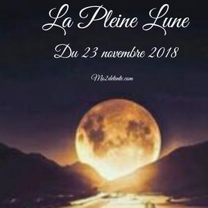 La Pleine Lune du 23 novembre 2018