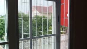 รีวิว งานติดตั้งมุ้งลวด บ้านคุณออม หมู่บ้านโกลเด้นทาวน์ บางนา-สวนหลวง