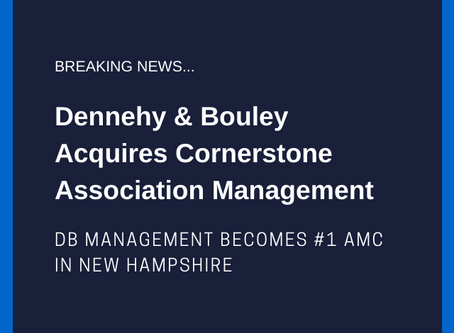 Dennehy & Bouley Acquires Cornerstone Association Management