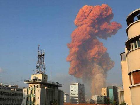 Explosión masiva deja a decenas de lesionados y fallecidos en Beirut