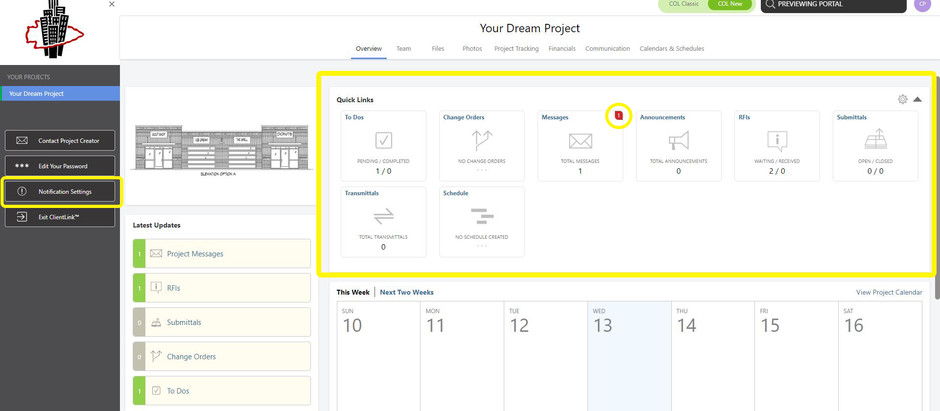 Leveraging online software to help streamline projects