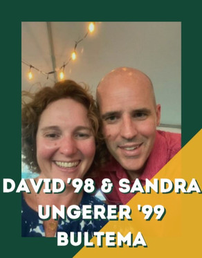 David '98 & Sandra Ungerer '99 Bultema