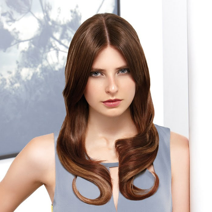 Brunette hair color | European Beauty