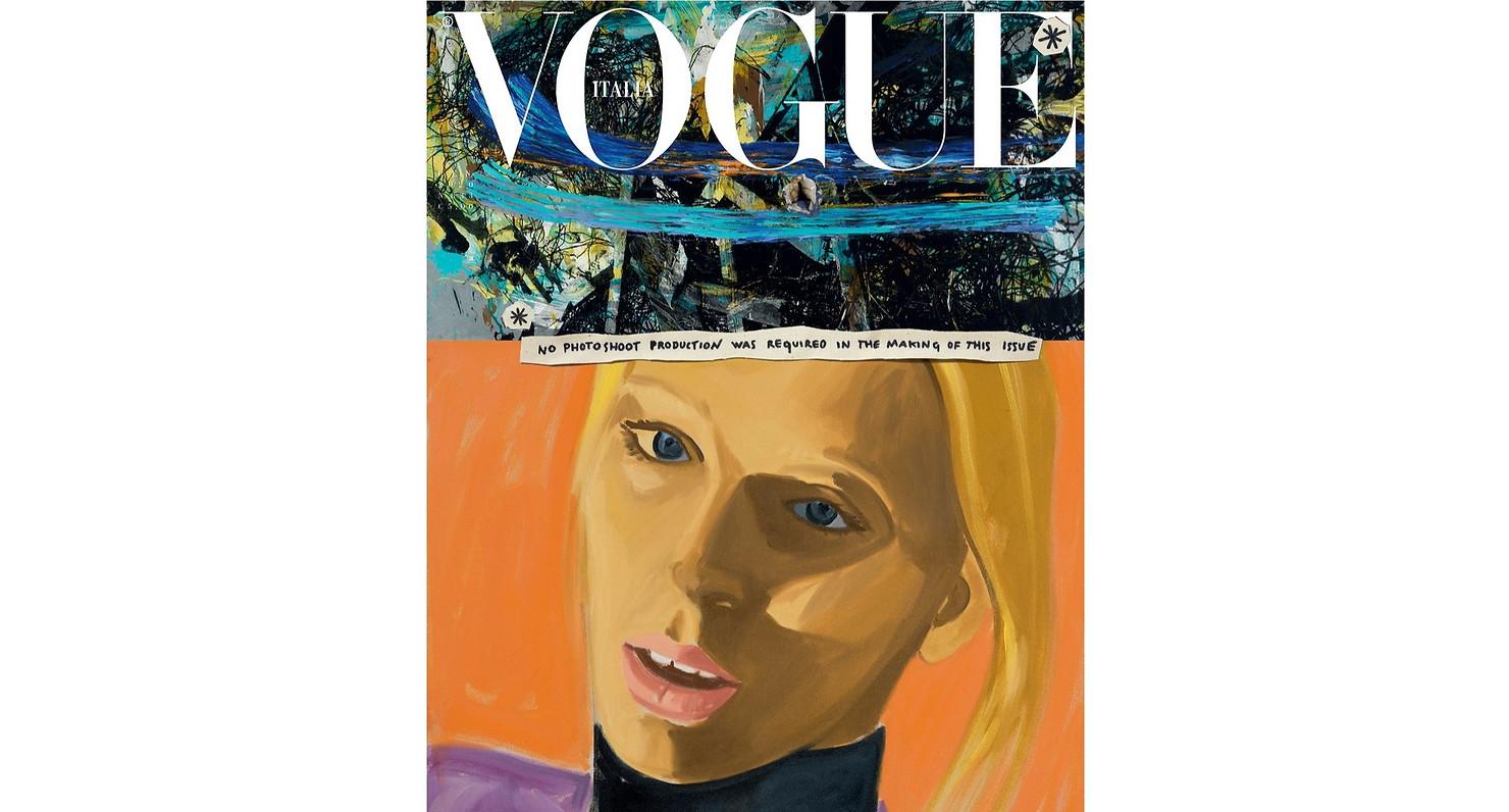 Vogue Italia Cover featuring Lili Summer