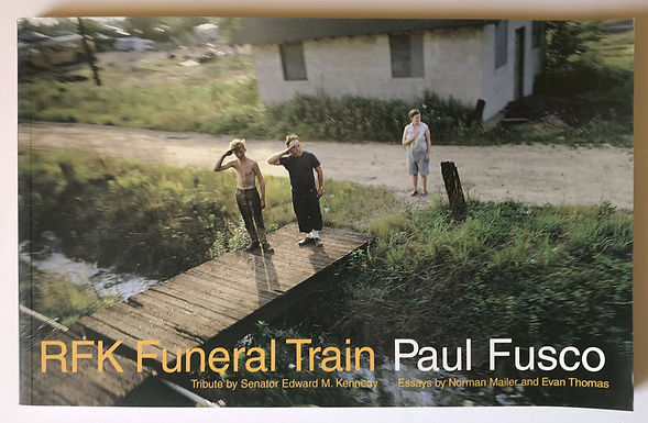 RFK, Funeral Train, un libro di Paul Fusco