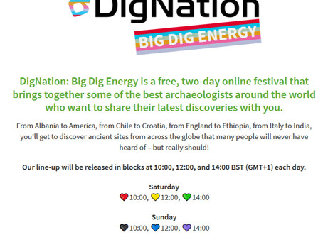 DigVentures Dig Nation Festival 2020