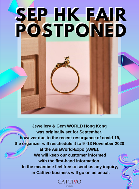 SEP HK FAIR POSTPONED
