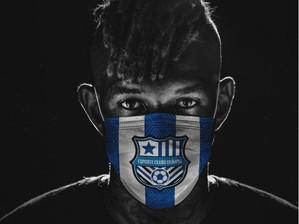 Anderson Talisca, ex-Bahia, doa 1.500 máscaras em Salvador contra o COVID-19