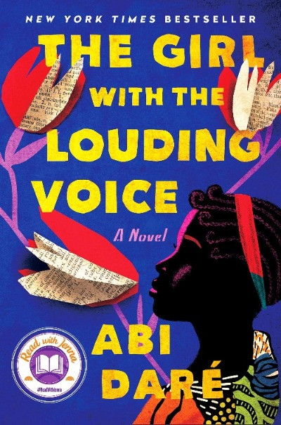 book cover of Abi Dare's The Girl with the Louding Voice