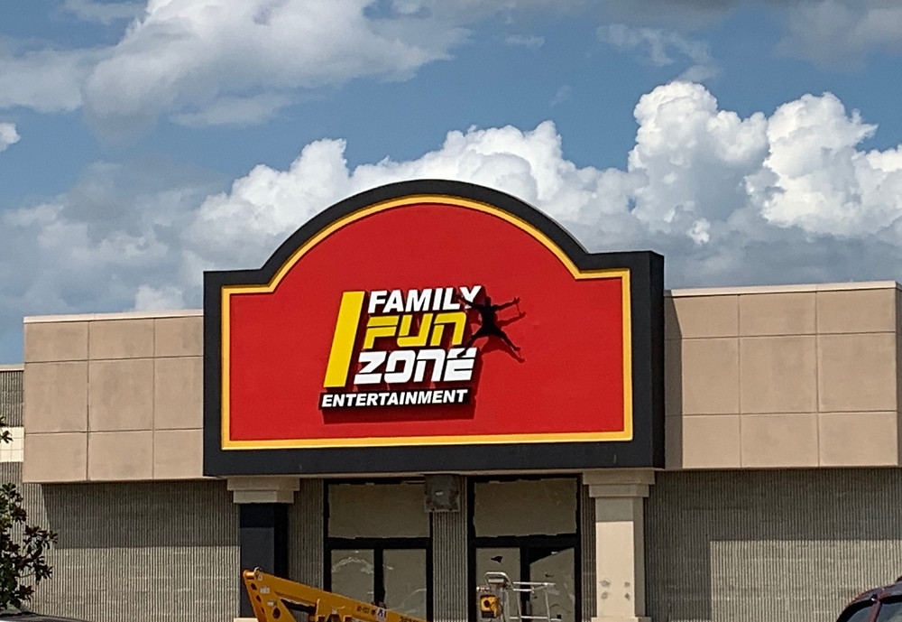 Family Fun Zone entrance