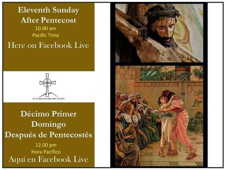 Sunday Service (English) August 16, 2020
