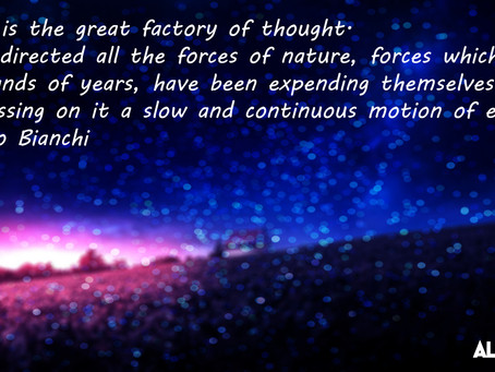 The Brain is the great factory of thought