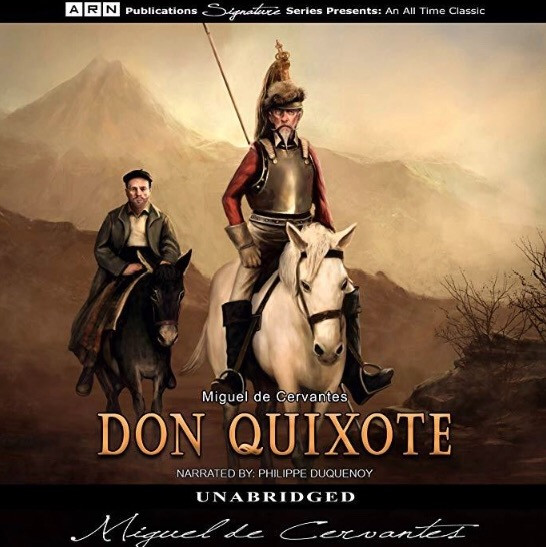 Audiobook cover art of Don Quixote