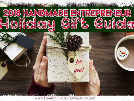 2018 Holiday Gift Guide for Handmade Entrepreneurs