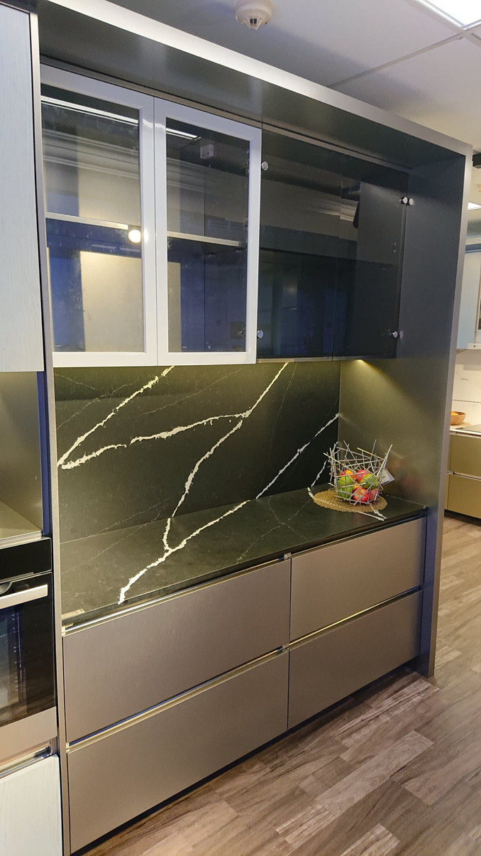 Glass doors for Kitchen Cabinet