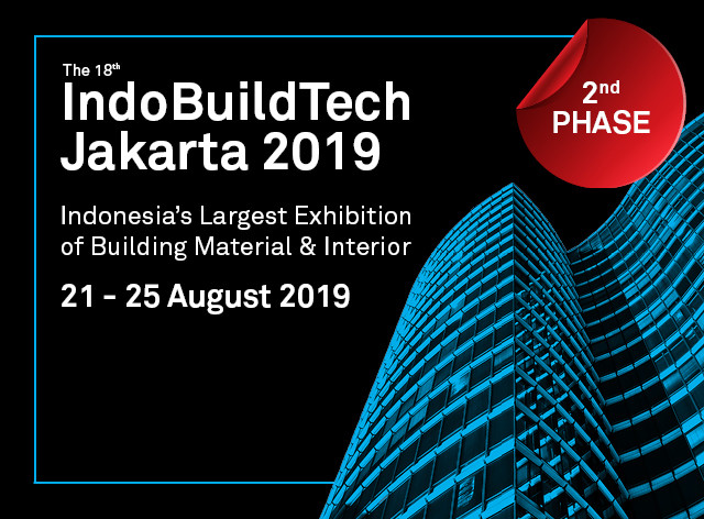 IndoBuildTech Expo 2019 - 2nd Phase