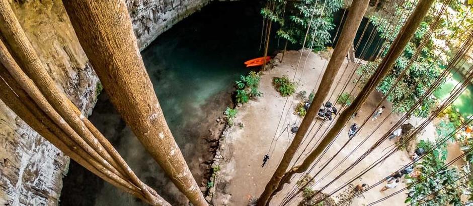 Cenote Sac-Aua, un paseo imperdible y a solo minutos de Valladolid Yucatán
