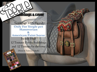 ABSOLUT CREATION Saddle Bags + Cover