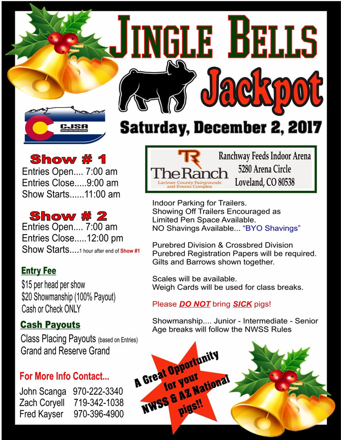 Jingle Bells Jackpot/Results