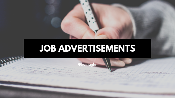 Copywriting Job Advertisements