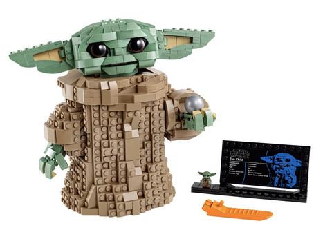 LEGO nos llena de ternura con su nuevo set ¡Baby Yoda llega a la colección!😍💸
