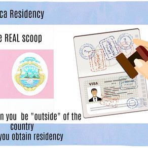 """Costa Rica Residency """"in country"""" Requirements"""