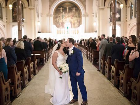 Eden and Matthew's Elegant Catholic Wedding in New Orleans!