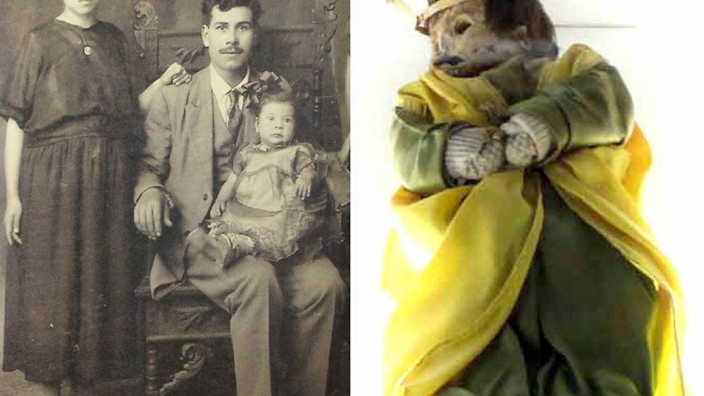 Momia de Guanajuato bebé.
