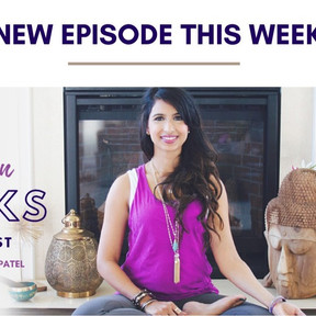 My podcast episode with Tejal Patel on inspiring tweens to meditate