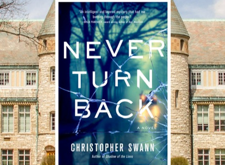 Never Turn Back - a gripping domestic thriller about obsession, revenge and redemption.