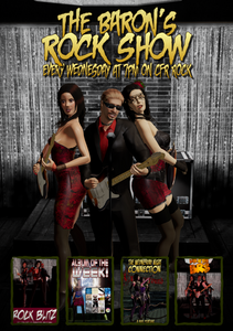 Promo pic for the Baron's Rock Show