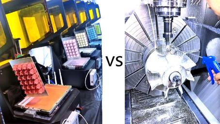 Impressão 3D ou CNC: Qual é melhor para o seu projeto