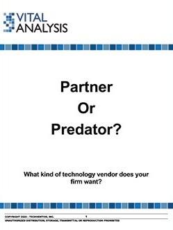 ERP Vendor Selection: Find a Partner, Not a Predator