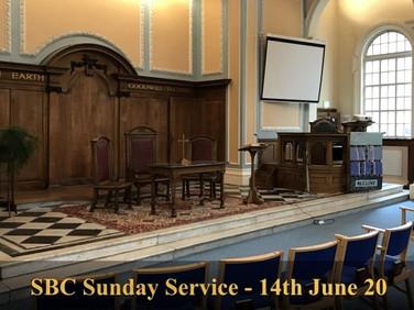 Sunday Service - 14 June 20