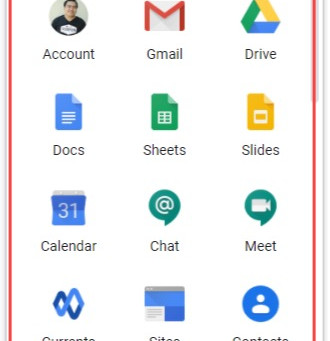 Getting familiar with G Suite productivity apps