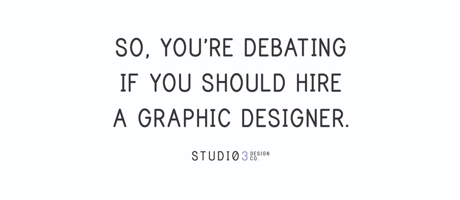 Is hiring a graphic designer actually worth the investment?