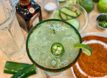 """Some Like it Hot"" Spicy Margarita"