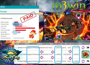 Legend Of Phoenix Fishing game tips to win RM3150 in Suncity