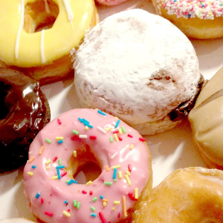 Donut Time Sundays 9-9:30 am