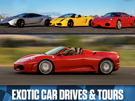 Exotic Car Drives and Tours (Father's Day Sale)