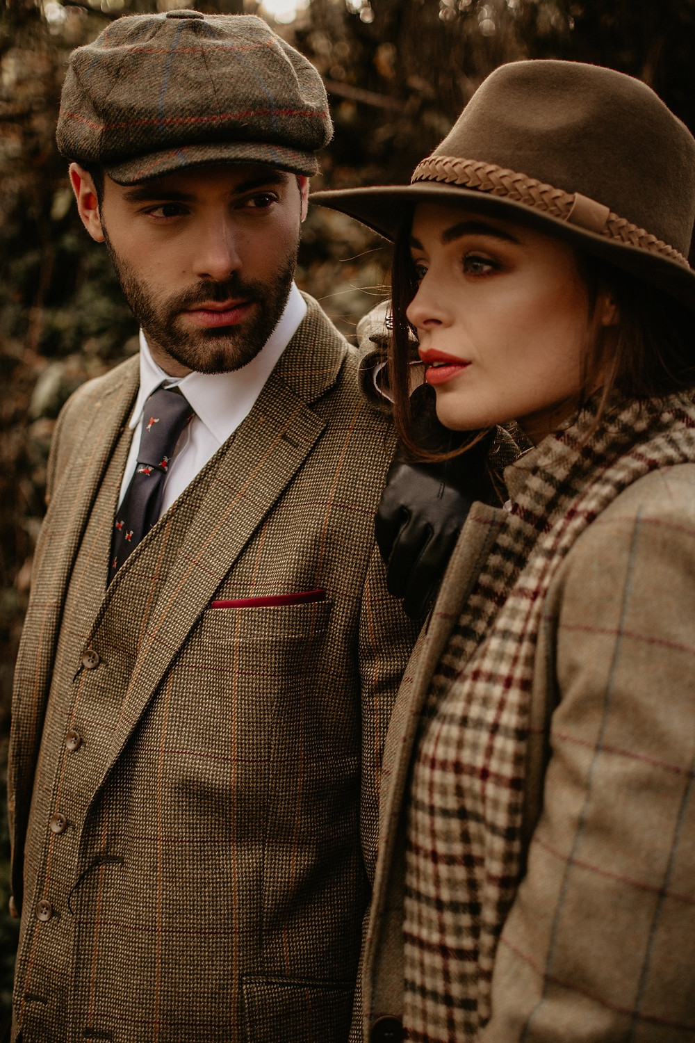tweeds british styled photo shoot manchester