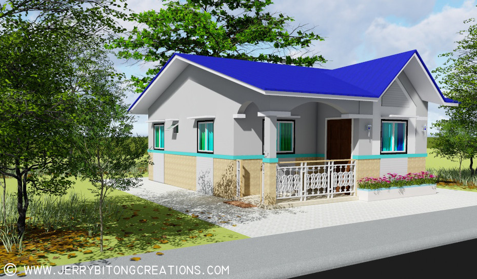 Modern Bungalow Type House