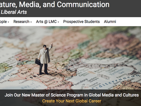 Master of Science in Global Media & Cultures