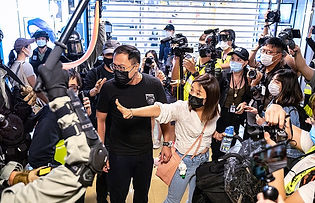 Hongkong Protester return to the Street since Covid-19 Lockdown