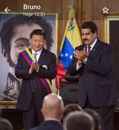 O que a minúscula Venezuela tem que o gigante anão não tem: patriotismo...Heba Ayyad