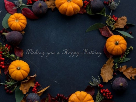 Happy Thanksgiving to all of our clients, partners, and friends!
