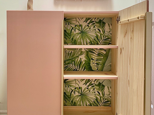 DIY: Custom cabinet with tons of personality