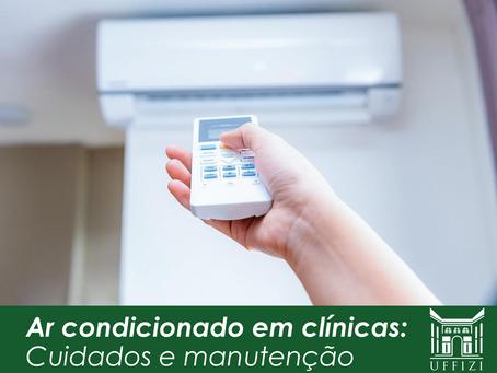 Ar condicionado em clínicas: cuidados e manutenção