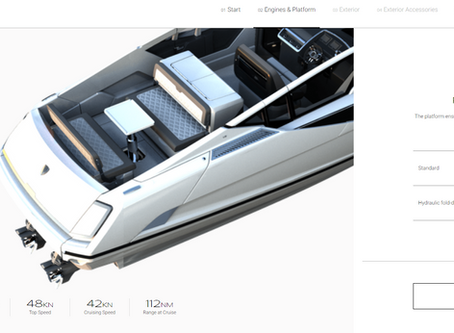 Design your Perfect F//LINE 33 -  Fairline Yachts' Unveils Industry-first Boat Configurator