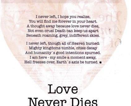 Love Never Dies By Ian Henery